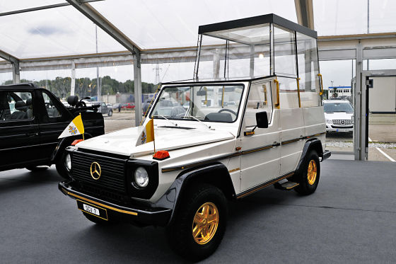 Mercedes-Benz 230 G Papamobil